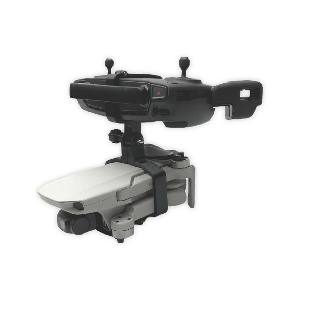 cheapest 3D printing Handheld Gimbal Camera Stabilizer Monitor Controller Tripod Holder Clip Bracket For DJI Mavic Mini Accessories