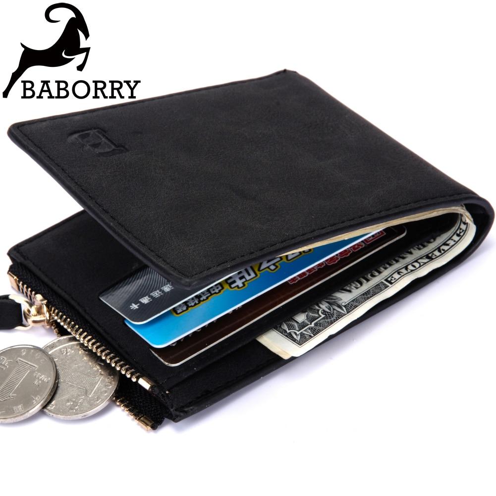 Small Mens Wallet Men Wallets Purse Men Walet Men Purse Mini Slim Vallet Card Holder Thin Money Bag For Men With Coin Pocket