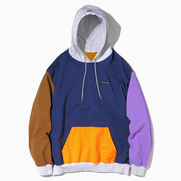 BTS Bulletproof Boys Euphoria From WONDER Field Jiu Country Celebrity Style Loose-Fit Six-Color Mixed Colors Hoodie