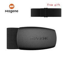 Монитор сердечного ритма Magene Mover H64m, Bluetooth 4,0 ANT + датчик magene с нагрудным ремешком, для компьютера, велосипеда, Wahoo, Garmin, BT, спортивный браслет