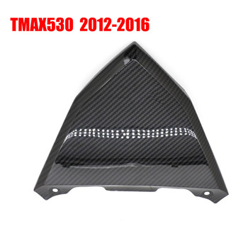 Carbon Black Rear Behind Cover For Yamaha TMAX530 Tmax 530 2012 2013 2014 2015 2016 T-MAX530 Fairings Tail Light Cover Cowl