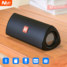 Nirkabel Bluetooth Speaker Outdoor Portabel Soundbar Subwoofer AUX TF Kartu USB Pendriver FM Speaker Home Tangan-Gratis Isi Ulang(China)