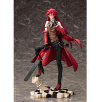 Anime Black ButlerGrell Sutcliff PVC Action Figure Collectible Model Toy A98