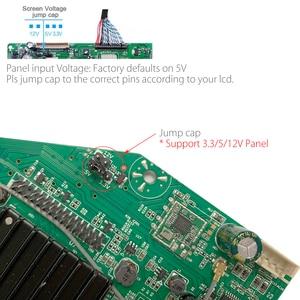 Image 3 - Mit 1Ch 6Bit 40Pin LVDS Kabel MSD358V 5,0 Android 8,0 1G + 4G 4 Kerne Intelligente Smart Wireless netzwerk WI FI TV LCD Treiber platine