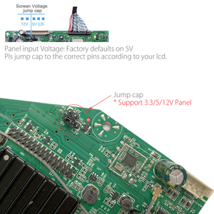 Image 3 - With 1Ch 6Bit 40Pin LVDS Cable MSD358V5.0 Android 8.0 1G+4G 4 Cores Intelligent Smart Wireless Network WI FI TV LCD Driver Board