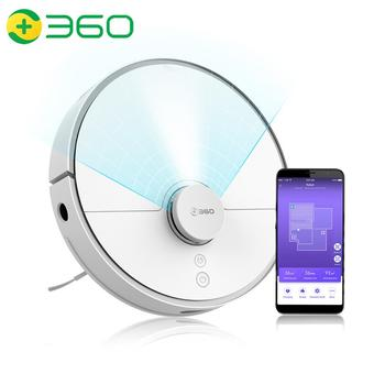 360 S5 Robot Vacuum Cleaner Automatic Self-recharge APP Remote Control Lidar Navigation Planned Dry&Wet Sweeping Mopping Cleaner 2018 new roborock xiaowa robot vacuum cleaner for home automatic sweeping dust sterilize smart planned mobile app remote youth
