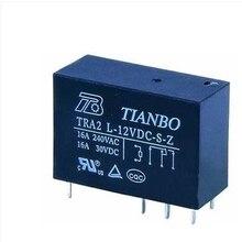 (10 шт.) Реле TRA2L-5VDC-S-Z TRA2 L-12VDC-S-Z TRA2L-24VDC-S-Z TRA2 L 12VDC S Z 8PIN 16A 5V 12V 24V 48V Новый и оригинальный