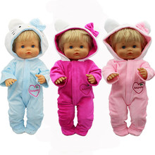 Macacão macio e quente roupas para sapatos, adequado para bonecas nenuco de 42 cm su hermanita, acessórios de boneca