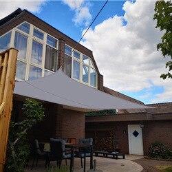 Wodoodporny Oxford szary kwadratowy żagiel przeciwsłoneczny ogród taras baldachim pływanie parasol przeciwsłoneczny odkryty Camping Yard żagiel markizy 3x3m