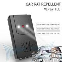 자동차 후드 마우스 쥐 마우스 Repeller 3 모드 초음파 + LED 손전등 + 혐오감 전자 설치류 억제