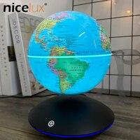 6 inch Magnetic Levitation Terrestrial Globe Rotation Luminou Gifts Decor Children Night Light Educational Toys For Bed Room