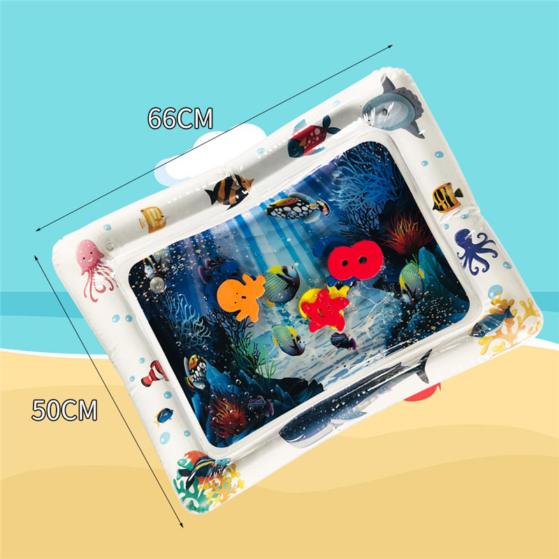 Baby Inflatable Patted Pad Multifunction Water Play Mat Creative Toddler Activity Sensory Stimulation Cushion Crawling Kids Baby Inflatable Patted Pad Multifunction Water Play Mat Creative Toddler Activity Sensory Stimulation Cushion Crawling Kids Toy
