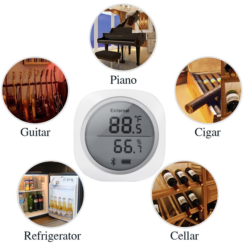 Image 5 - INKBIRD IBS TH1 Plus Indoor Outdoor Thermometer Hygrometer  Digital C/F Temperature Humidity Meter Weather Station For  BrewingTemperature Instruments