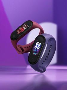 Xiaomi Mi-Band Traker Smart-Bracelet Amoled-Screen Fitness Bluetooth Waterproof Sport