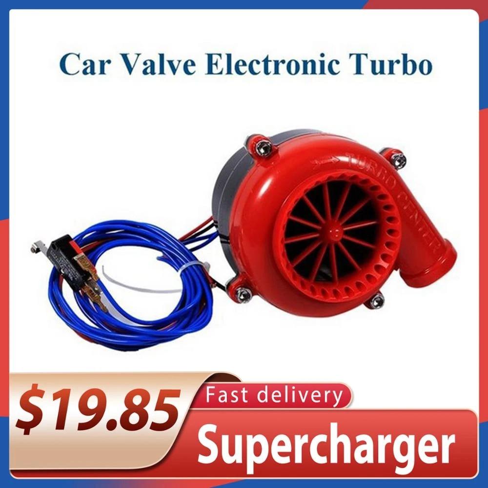 cherrysong Car Fake Dump Valve Electronic Turbo Blow Off Hooter Valve Analog Sound