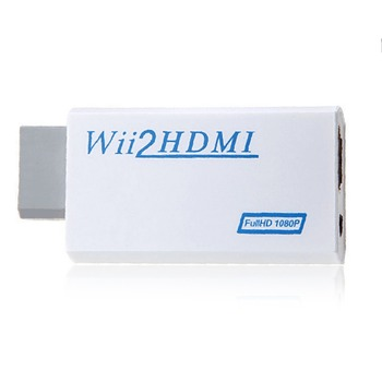 For Nintendo Wii Hassle Free Plug and Play For Wii to HDMI 1080p Converter Adapter Wii2hdmi 3.5mm Audio Box For Wii-link wii to ps2 adapter