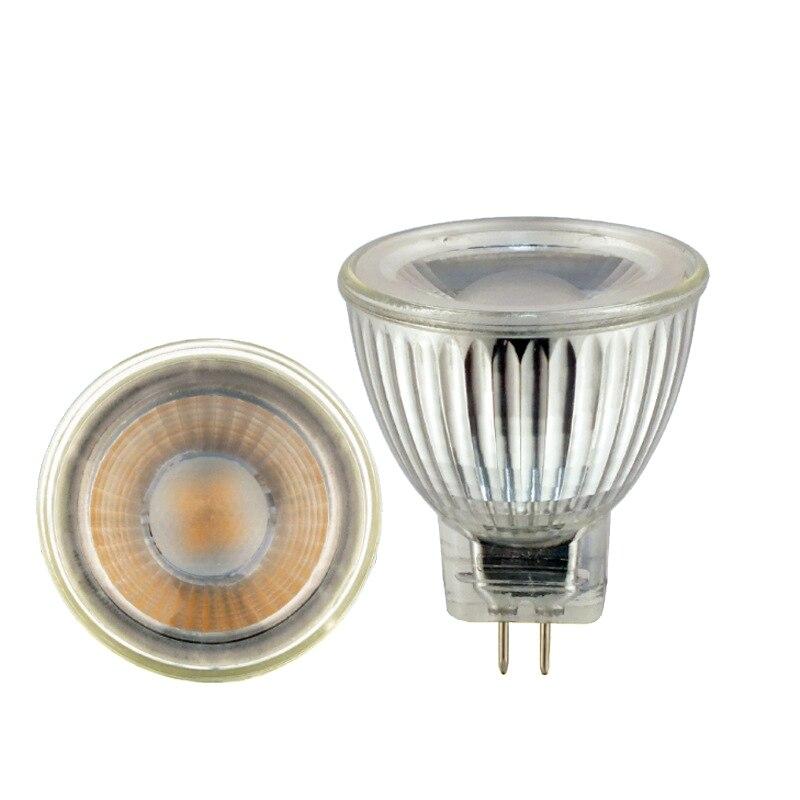 High Quality MR11 COB LED Light Bulb 7W AC/DC 12V 220V Dimmable Ceiling Lamp Led Spotlight Warm/Natural/Cold White GU4 LED Lamp