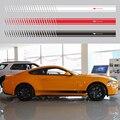 Аксессуары для Ford Mustang  виниловая переводная наклейка  графика  спорт  боковая наклейка s  автомобильный Стайлинг  4 шт.