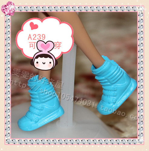 1/6 Doll Shoes Mix style High Heels Sandals Boots Colorful Assorted Shoes Accessories For Barbie Doll Baby Xmas DIY Toy 18