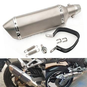 51MM Universal Motorcycle modified exhaust pipe muffler Exhaust System For Honda CB650R CB125R CB400SF CB1100 CB600F CB1000R
