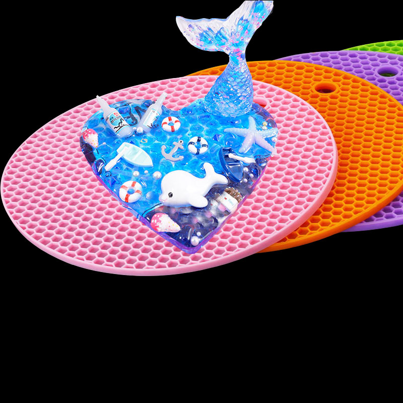 PopularResin Mold Doming Mat Expoxy Resin Tools Jewelry Molds Working Surface Decoration Resin Doming Tray