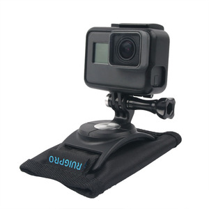 Image 4 - 360 derece rotasyon Quick Release sırt çantası kemer düğmesi dağı toka klip adaptörü Gopro Hero 9/8/7/6/5/4 Xiaoyi eylem kamera
