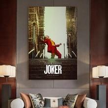 ¡Novedad de 2019! pósteres e impresiones de películas DC de estilo Vintage del enemigo de Batman, sala de estar Mural para, dormitorio, imágenes artísticas para decoración del hogar