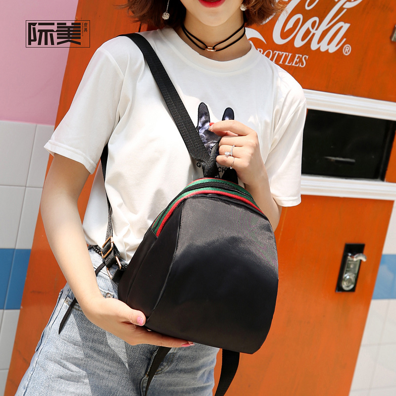 2020 Oxford Cloth Simple Versatile Students Backpack Korean-style WOMEN'S Bag Bag WOMEN'S Backpack Canvas Bag