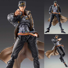 GIOGIO Bizarre Adventure Toy Action Figures Kujo Jotaro Anime Action Figure Anime Figure Action Toys Star Platinum Figure Toy starcraft ii sarah louise kerrigan 12 starcraft2 queen of blades action figures toy