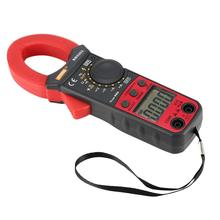 купить Digital Clamp Meter Multimeter True RMS Auto Range AC/DC Volt Amp Ohm Capacitance Frequency Diode NCV Tester Buzzer 3999 Counts дешево