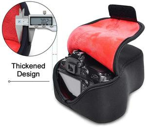 Image 5 - Morbido Neoprene caso Sacchetto della Macchina Fotografica Impermeabile per Nikon D3500 D3400 D3300 D3200 D3100 D5600 D5500 D5300 D5200 D5100 con 18  55 millimetri lens