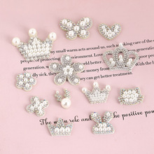 Apparel-Accessories Network-Clothing Drilling Adhesive Crown Felt-Figure Buiter Adornment
