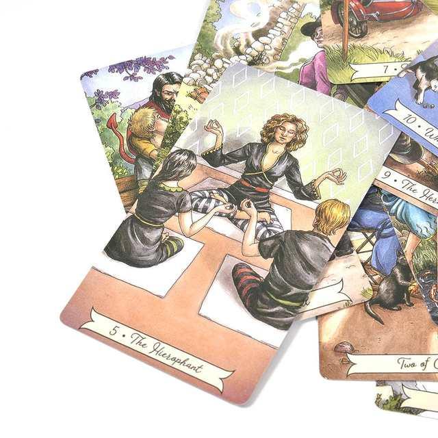карты играть ведьма