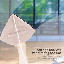 цена на 5-35mm Double Sided Glass Glider Magnetic Window Cleaner Wiper Glazing for Double Glazed Windows Magnetic Washing Brush Tools