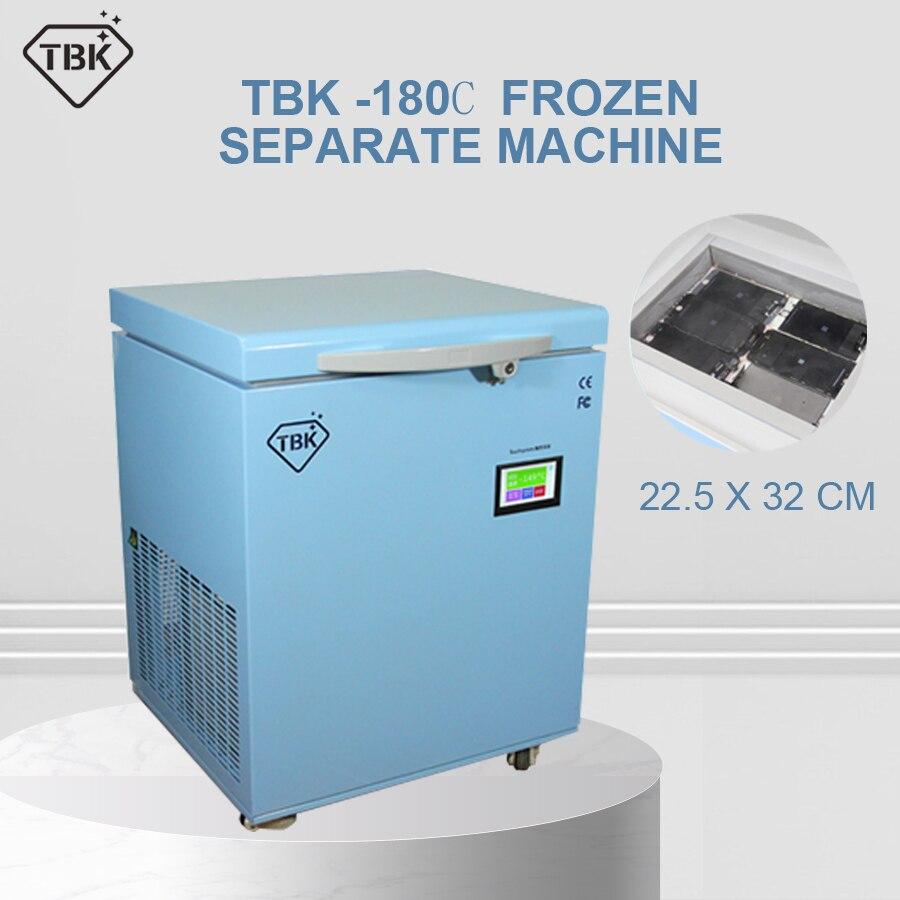 -180 degrés machine congelée TBK-598 nouvelle version séparateur de gel pour Samsung S6 edge S7 bord LCD réparation d'écran tactile
