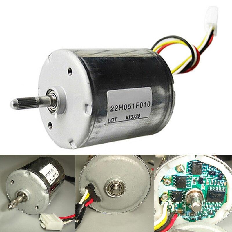 10 W 12 V-24 V 22H051F Motor DE CC sin escobillas 0.14A-0.17A doble rodamiento unidad interna de alta velocidad motor sin escobillas PWM BLDC