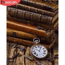 HUACAN boya natürmort çizim tuval HandPainted boyama sanat hediye DIY resimler numarası kitap kitleri ev dekor