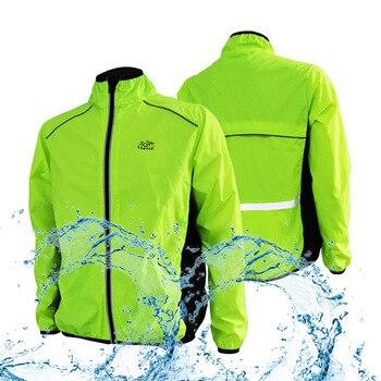 Men Women Waterproof Cycling Hiking Jacket Sports Rain Coat Windbreaker Fishing Jackets Green 5 colors