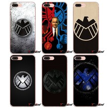 Marvel S.H.I.E.L.D Agents of Shield Logo Fall Für Huawei G7 G8 Ascend P7 P8 P9 Lite Ehre 4C 5X 5C 6X Taube 7 8 9 Y3 Y5 Y6 II Pro(China)