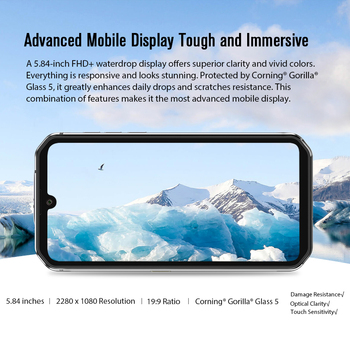 Blackview BV9900E Helio P90 Rugged Smartphone 6GB+128GB IP68 Waterproof 4380mAh 48MP Camera NFC Android 10 Mobile Phone 5