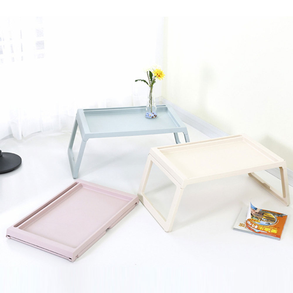 Wooden Foldable Table Tray Multifunctional Laptop Computer Desk Stand Outdoor  Picnic Table Tray