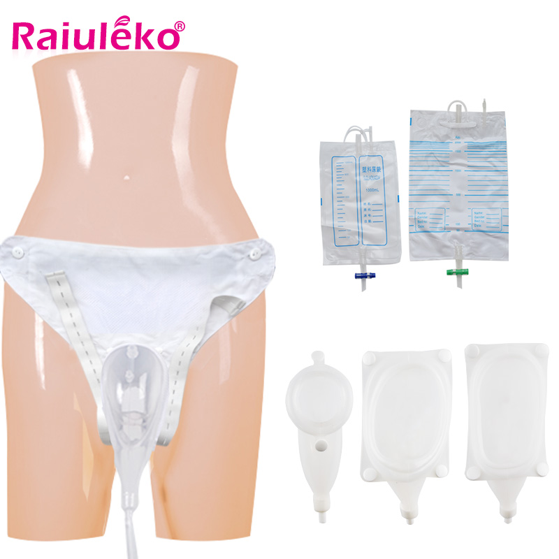 Male / Female/elderly  Urine Bag Urine Collection Set Breathable Urinal Spill Proof Bag For Urine Incontinence