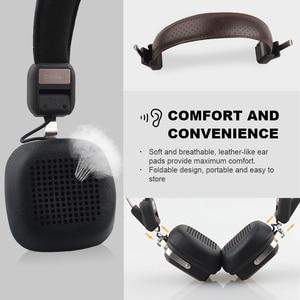 Image 5 - OneOdio Original Elysium Wireless Headphones Bluetooth Foldable Headset With Mic Metal Lightweight Headphone 500mAh Black/ Beige