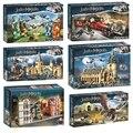 2021 новый волшебный замок большой зал, строительные блоки, Мультяшные фигурки героев, игрушки, игра-модель мозга, аниме подарки