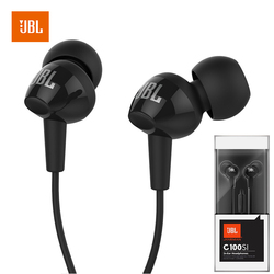 JBL C100Si Stereo Wired Headset Deep Bass Suitable For GAME MUSIC SPORTS Ultra-Low Latency 3.5mm Headset IN-EAR Headset With MIC