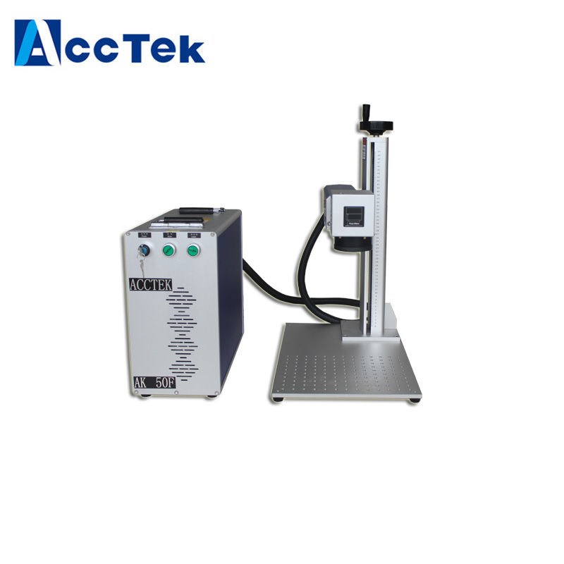 High Quality Fiber Laser Marking Machine Raycsu 30W 50W For Metal Laser Engraving Machine