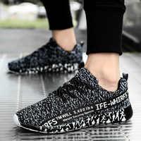 Buty męskie buty sportowe lekkie buty do biegania dla kobiet oddychające siatkowe tenisówki typu uniseks wysokiej jakości para Zapatillas Hombre