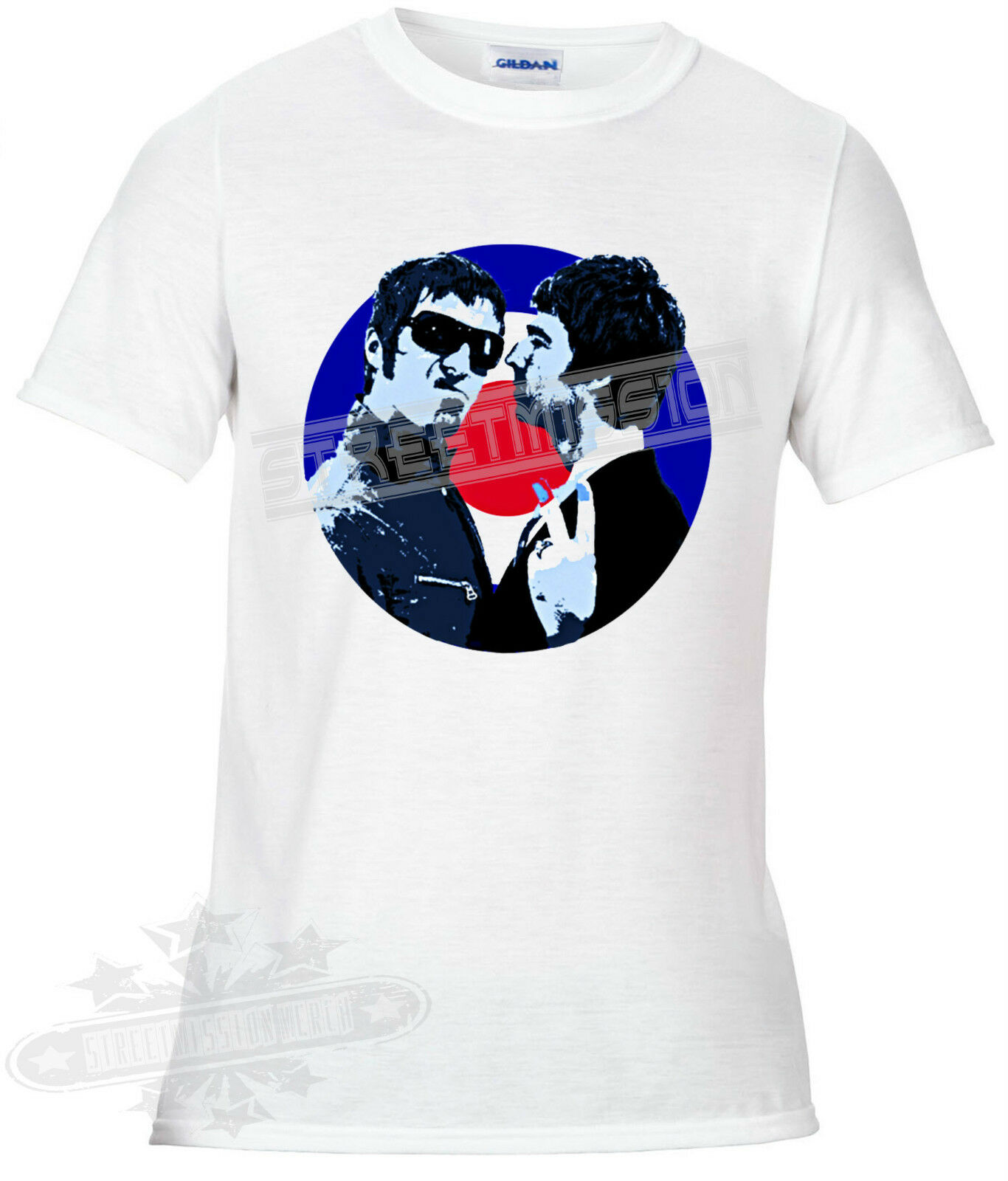 Liam Gallagher Face Oasis Indie Rock Music Womens T-Shirt