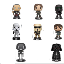 Star Wars, movie and TV, funked pop, Grand Theft I, Black Warrior, white soldier, doll model