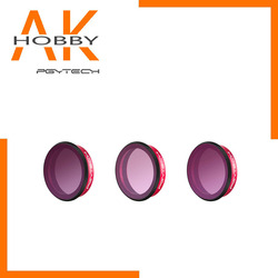 PGYTECH 3pcs Professional Lens Gradient Filters Set Kit (ND8-GR ND16-4 ND32-8) Protection Camera Lens Filter with Cleaning Cloth